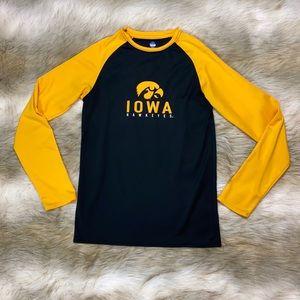 NCAA Iowa Hawkeye Long Sleeve Top, Small